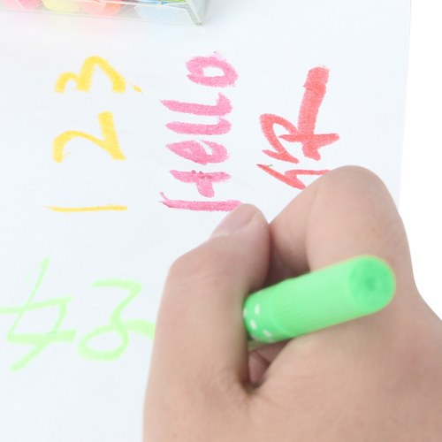 Fluorescent 5 Crayons Pack