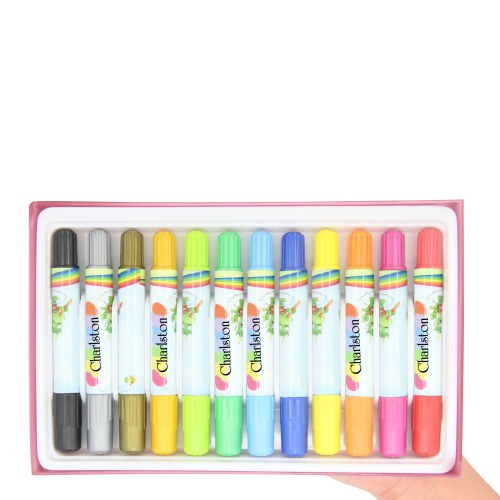 12 Crayons Coloring Stick Pack