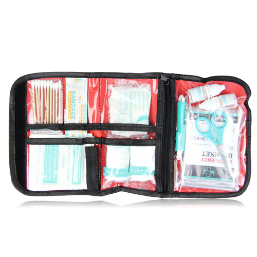 Roll Up Medical First Aid Kit
