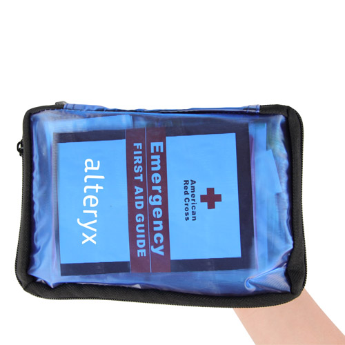 Transparent First Aid Kit