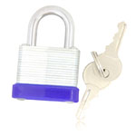 Laminated Deterrent Pad Lock