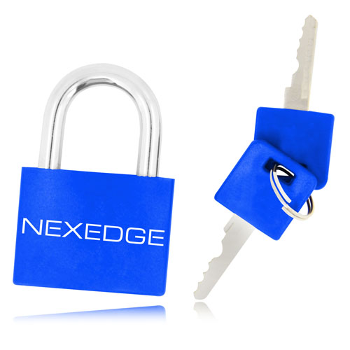 Plastic Body Shell Lockout Padlock