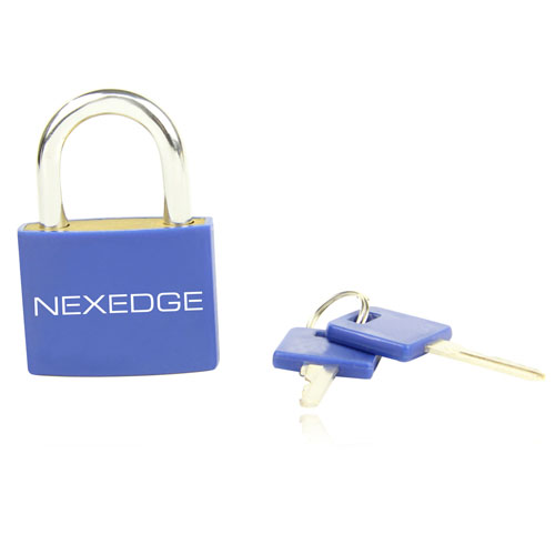 Plastic Body Shell Lockout Padlock  Image 1