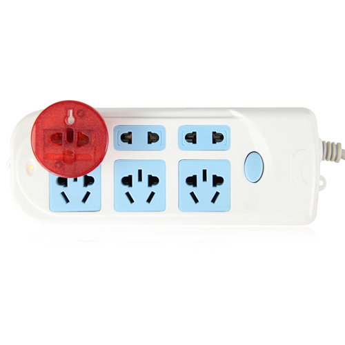 Translucent Universal Travel Power Adapter Image 4