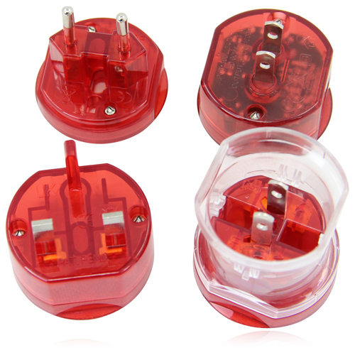 Translucent Universal Travel Power Adapter Image 7