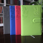 Trendy Notebook With Diary