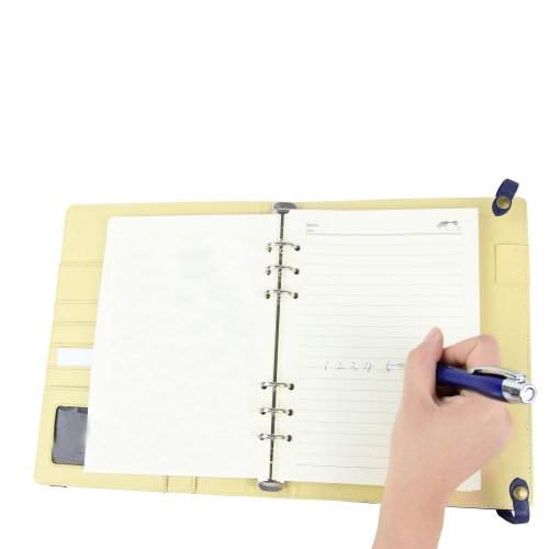 Nifty Dualistic Closure Pad Folio With Diary