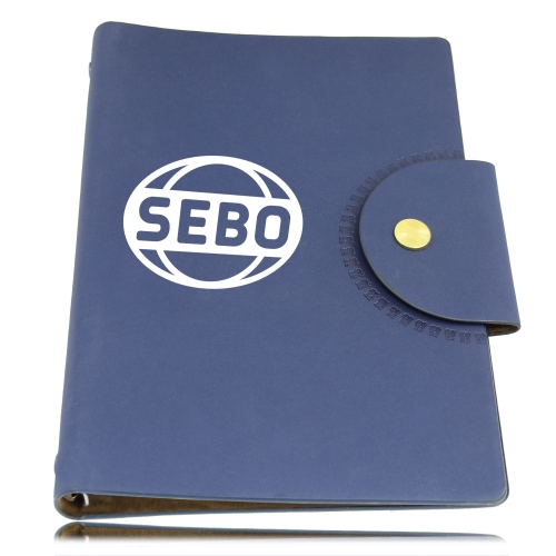 Leather Spiral Document Holder