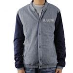 Slim Fit Varsity Jacket