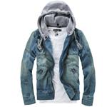 Jean Hooded Jacket