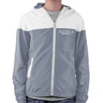 Sports Hooded Mixed Colors Jacket