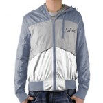 Slim Nylon Outerwear Jacket With Hood