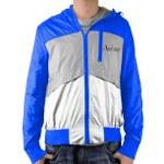 Slim Nylon Outerwear Jacket With Hood