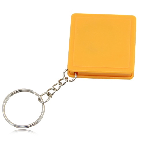 Square Measuring Tape Keychain Image 5