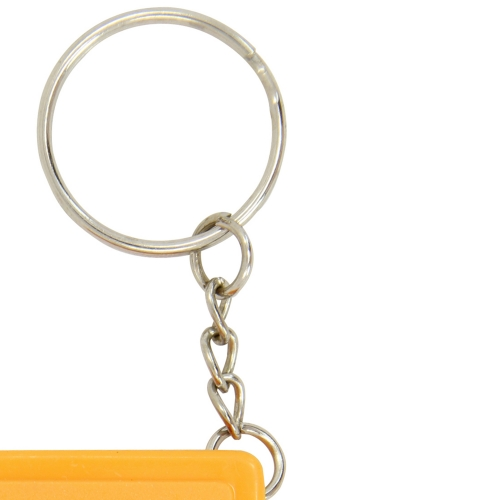 Square Measuring Tape Keychain Image 6