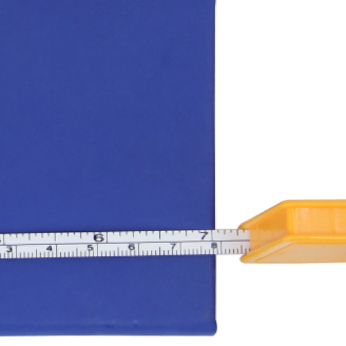 Square Measuring Tape Keychain
