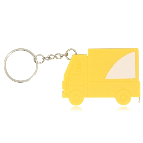 Truck Shape Measuring Tape Keychain Image 2