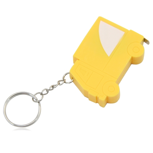 Truck Shape Measuring Tape Keychain Image 5
