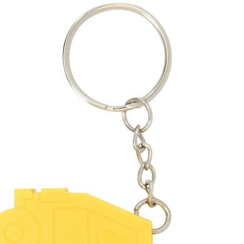 Truck Shape Measuring Tape Keychain