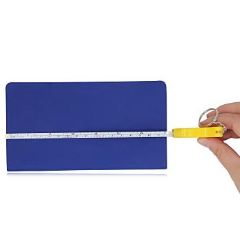 Thumbs Up Measuring Tape Key Ring