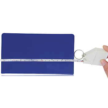 Funny House Measuring Tape Keychain