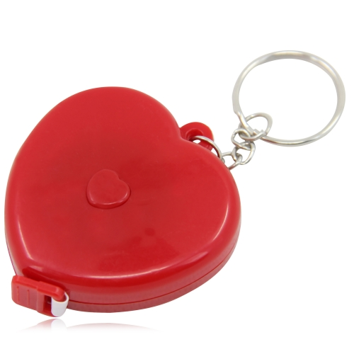 Heart Measuring Flexible Tape Keychain Image 2