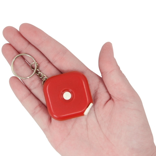 Soft Square Tape Keychain