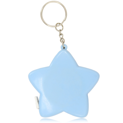 Star Shaped Measuring Tape Keychain Image 5