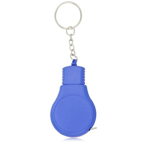Bulb Shaped Measuring Tape Keyring