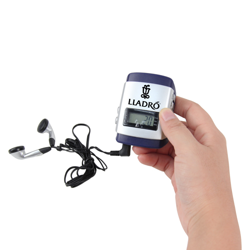 Multifunctional Radio Running Digital Pedometer
