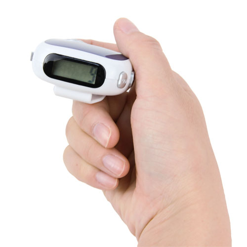 Distance Multifunctional Radio Pedometer