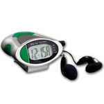 Multi-Functional Radio Digital Pedometer