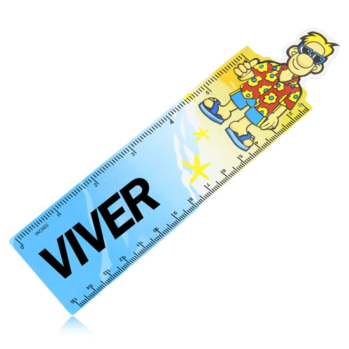 15cm Customize Shape Plastic Ruler  Image 3