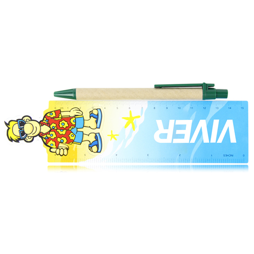 15cm Customize Shape Plastic Ruler  Image 4