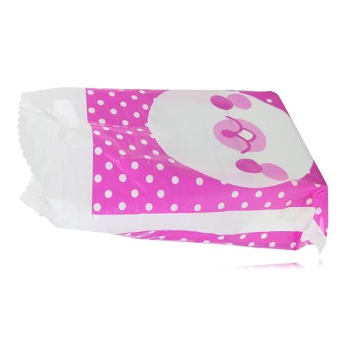 Dot Print Design Plastic Bag
