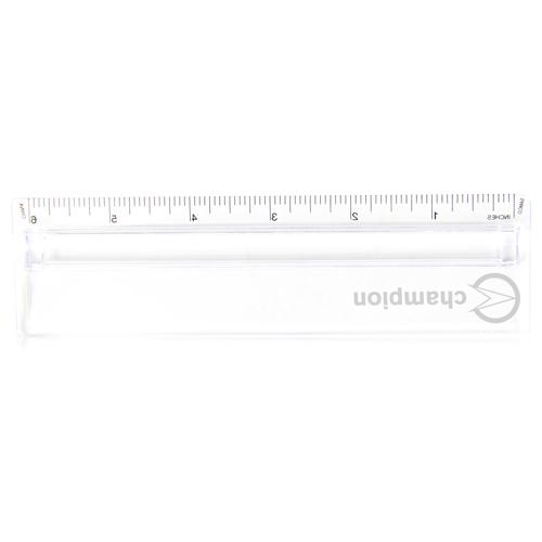 6 Inch Translucent Magnifying Ruler
