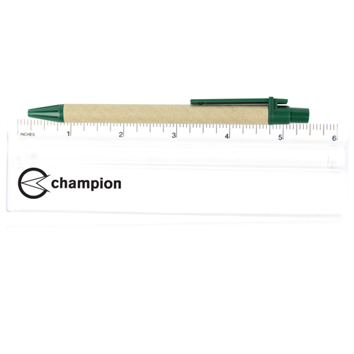 6 Inch Translucent Magnifying Ruler