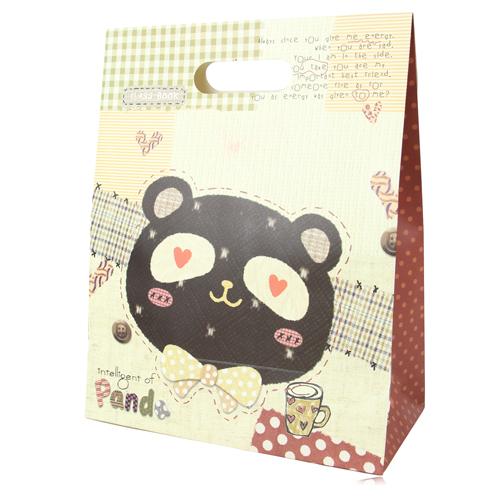 Lovely Velcro Closure Gift Bag
