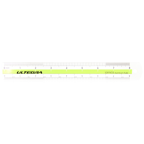 20cm Fashionable Aluminum Ruler Image 2