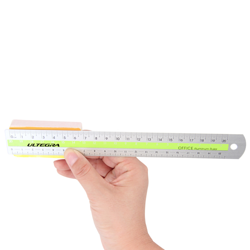 20cm Fashionable Aluminum Ruler Image 3