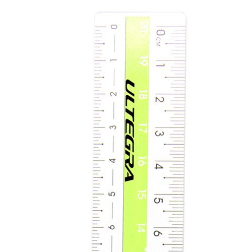 20cm Fashionable Aluminum Ruler Image 7