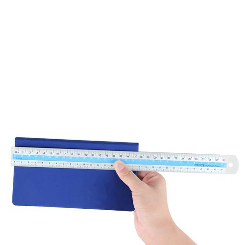 30cm Two Color Aluminum Ruler Image 3