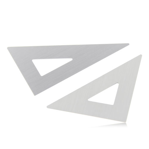 Aluminum Twain Triangular Rulers Image 2