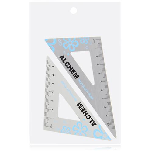 Aluminum Twain Triangular Rulers Image 8