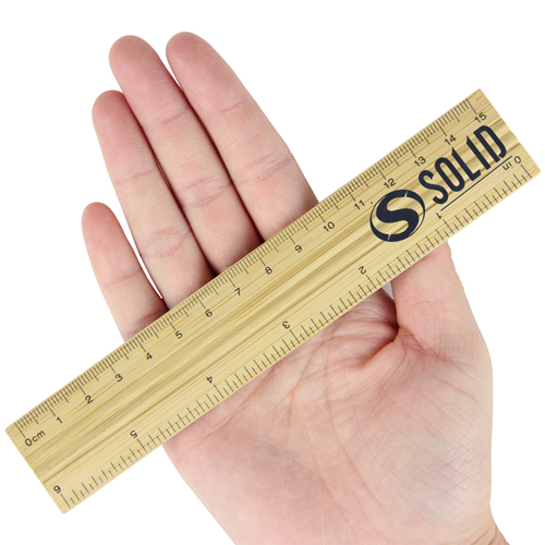 15cm Bamboo Ruler