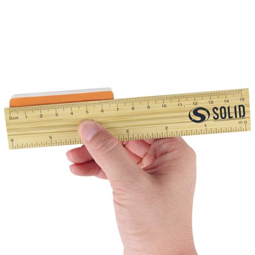 15cm Bamboo Ruler Image 3