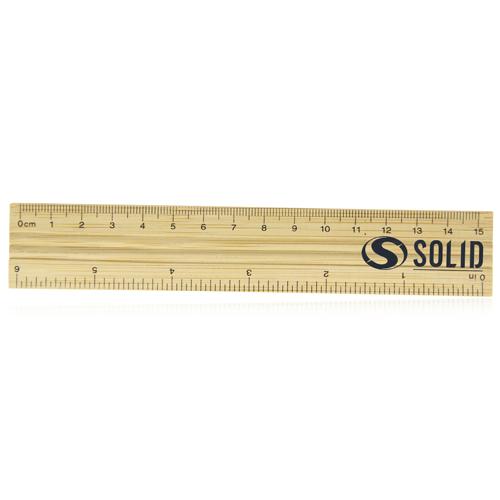 15cm Bamboo Ruler Image 4