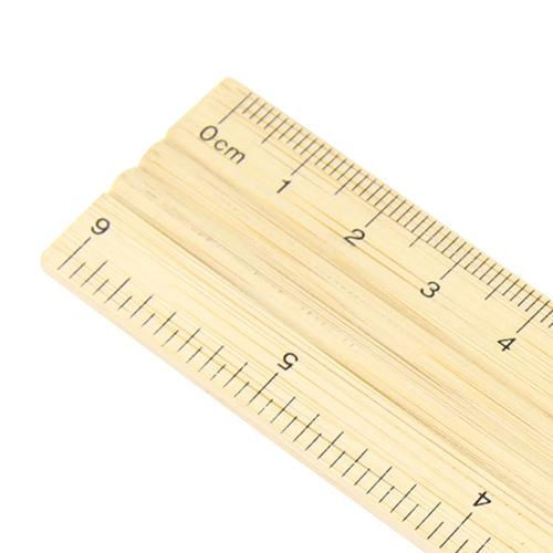 15cm Bamboo Ruler Image 6
