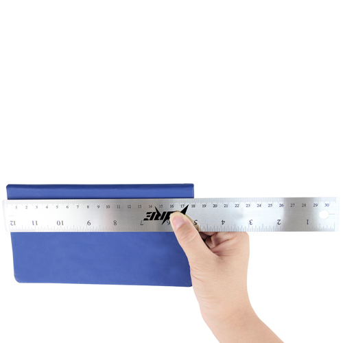 30cm Stainless Steel Skidproof Ruler Image 3