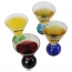 Color Ball Base Cocktail Glass Cup